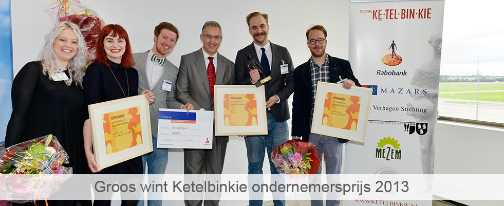 Groos wint ketelbinkieprijs 2013