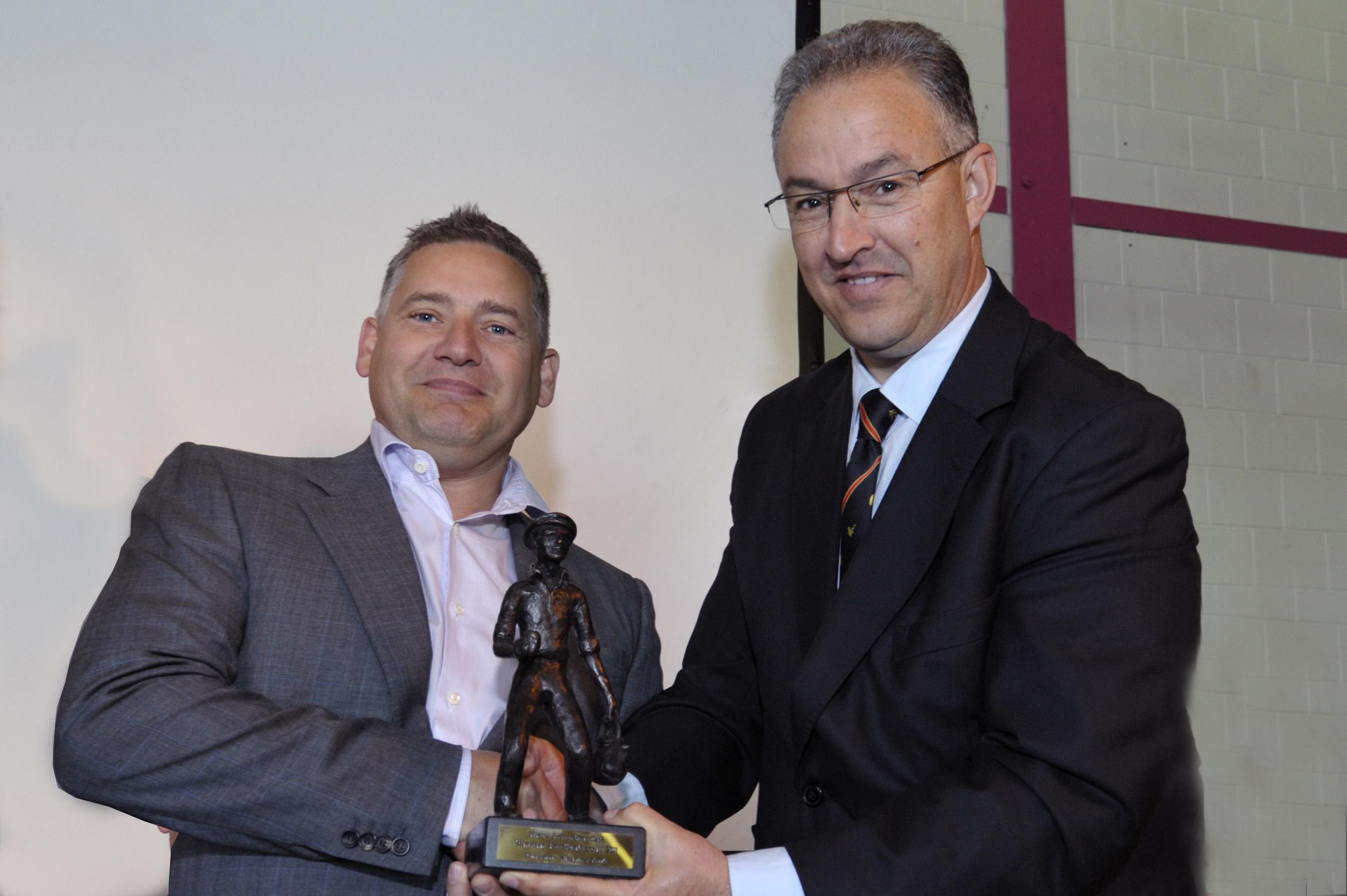 Burgemeester Aboutaleb reikt de Ketelbinkieprijs uit aan NRC eigenaar Ron Sterk